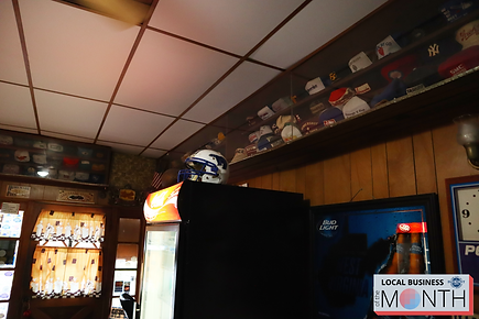 Fairmont Senior football helmet at 8th Street Confectionery