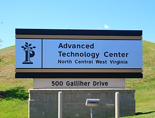 Pierpont Advanced Technology Center Sign