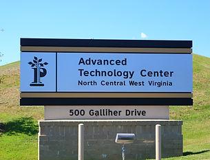 Pierpont Advanced Technology Center Sign