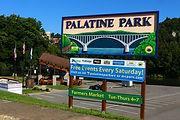 Palatine Park Sign