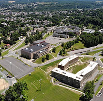 Fairmont State Back Aerial Campus