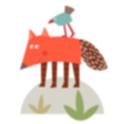 Assumpta Codina_16_fox and bird.jpg