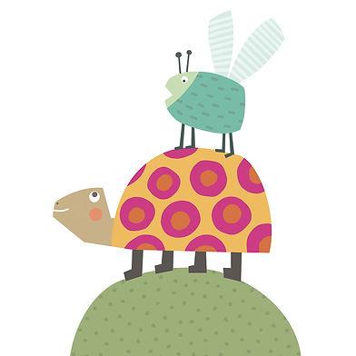 Assumpta Codina_07_turtle and bug.jpg