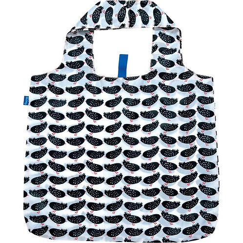 Highland Bird Black Blu Bag Reusable Shopping Bags