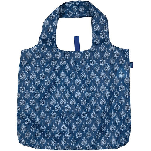 Crete Navy Blu Bag Reusable Shopping Bag