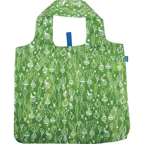 Veggies Green Blu Bag Reusable Shopping Bag