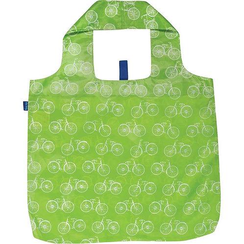 Summer Bikes Lime Blu Bag Reusable Shopping Tote