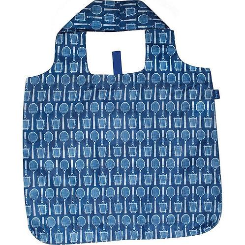 Wimbledon Navy Blu Bag Reusable Shopping Tote