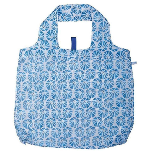 Sea Urchin Blue Blu Bag Reusable Shopping Bag