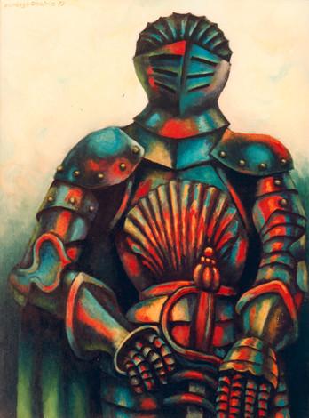Título: Caballero con espada