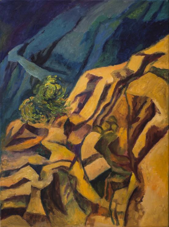Título: Paisaje de montaña en San Fili