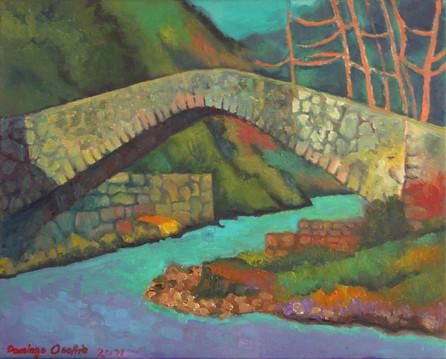 Título: El puente sobre el río Emoli