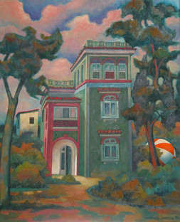 Título: La casa verde