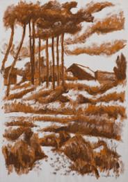 Título: Paisaje de la floresta