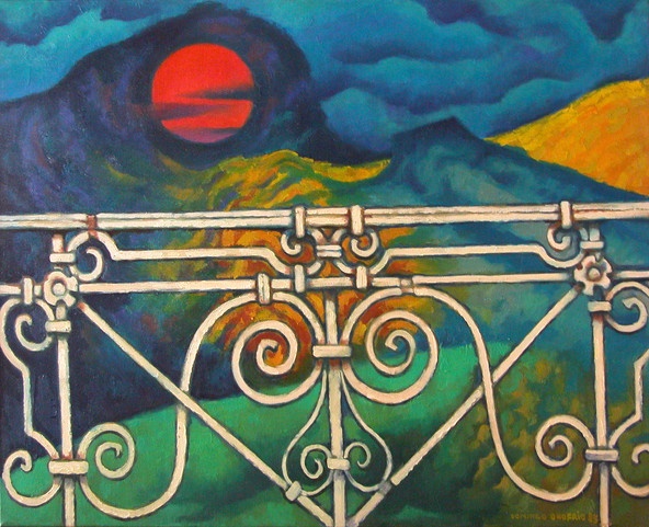 Título: El balcón blanco