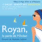Affiche de l'exposition organisée par la ville de Royan