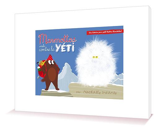 Marmottos, seule contre le Yéti - Kamitapis®
