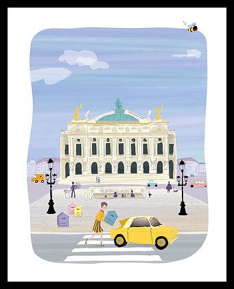 Ruches place de l'Opéra