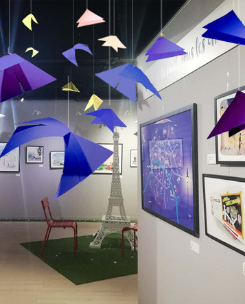Papillons de nuit à Paris