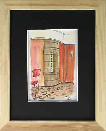 Le Rouquet, vu de l'intérieur