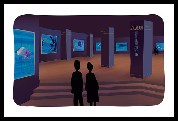 L'aquarium du Palais de la Porte Dorée