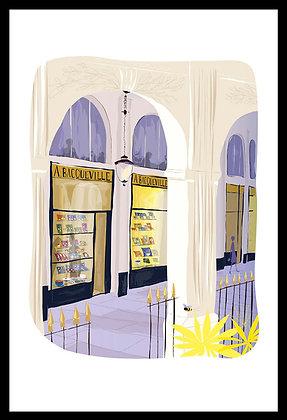 Promenade sous les galeries du Palais-Royal