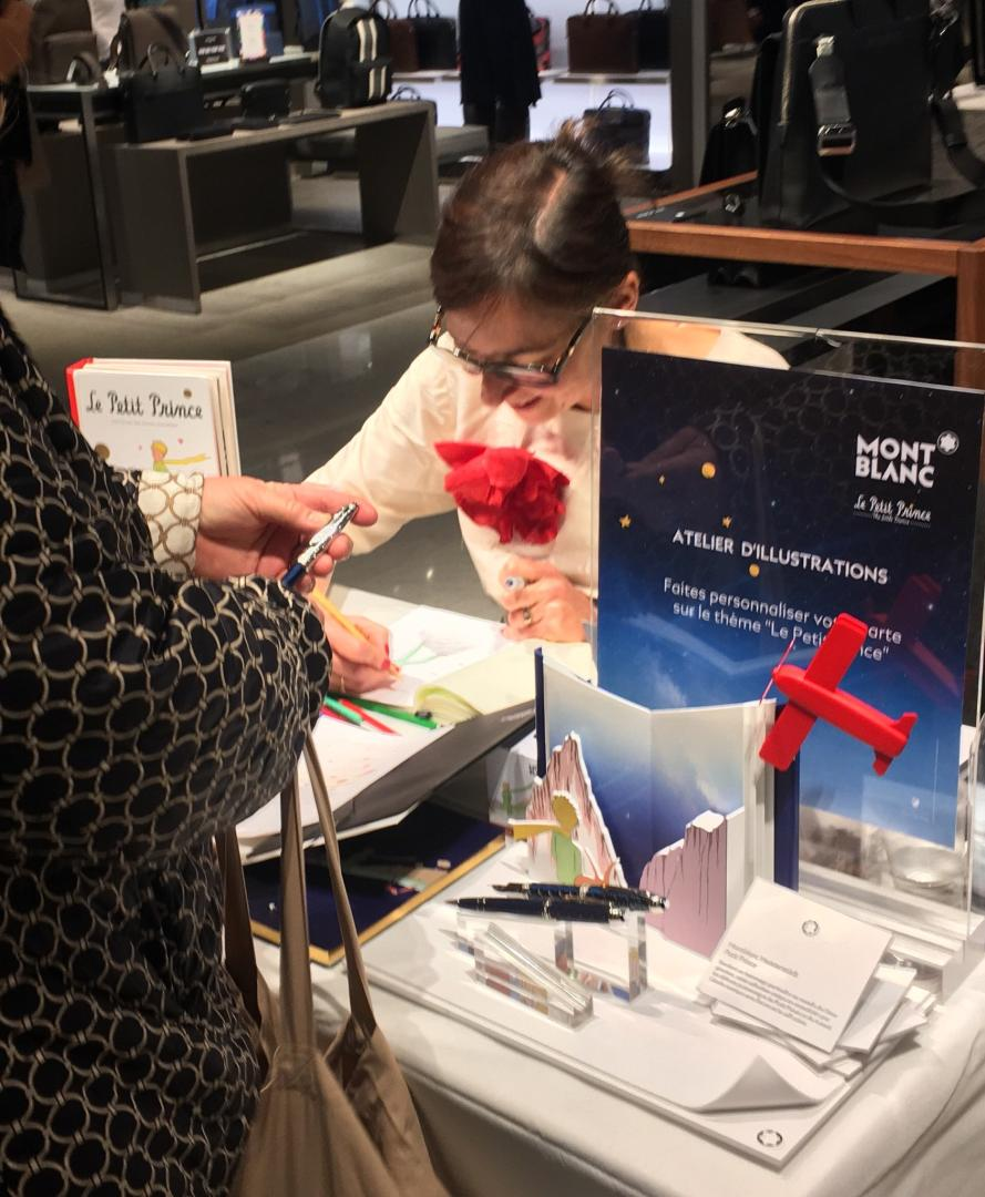 Montblanc Live drawing
