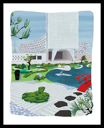 Le jardin de l'Unesco