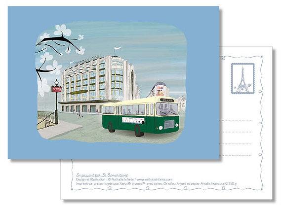"Carte postale "" Souvenir de La Samaritaine """