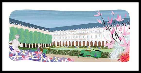 Pause dans le jardin du Palais-Royal