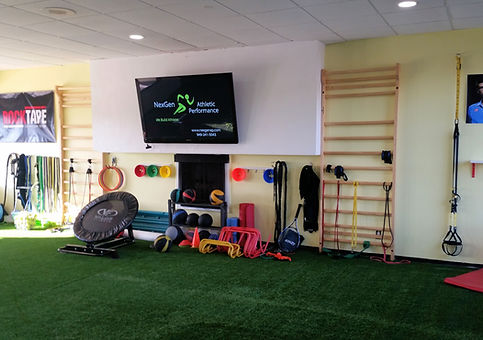 NexGen Athleic Performance facility in Neport Beach California