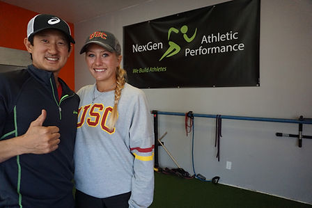NexGen Athletic Performance athlete sydney van alphen commits to USC to play on the womens tennis team strating in the spring of 2017