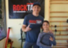 Tadevos Mirijanyan with Coach Brandon Smith