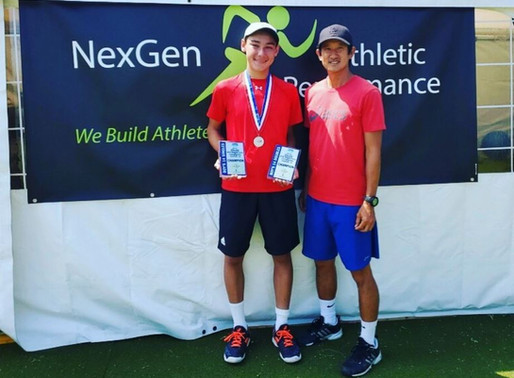 NexGen AP Sports Fitness Club Athlete Achieves High Athletic Performance
