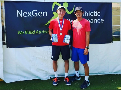 NexGen AP Sports Fitness Club Athlete Achieves High Athletic Performance