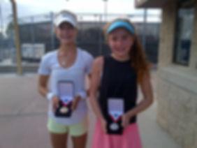Jenna DeFalco wins 2016 Girls 14sUSTA National Selection Tournament in Irvine!