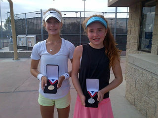 Jenna DeFalco wins 2016 Girls 14s USTA National Selection Tournament in Irvine!