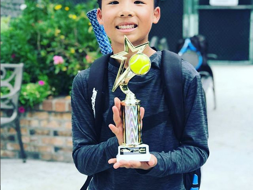 High Performance NexGen AP Champion Jonathan Wins Tennis Tournament