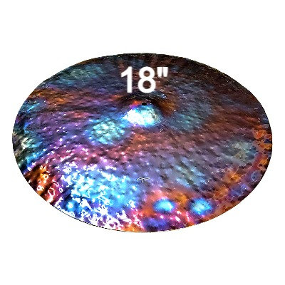 """18"""" FX Ride Cymbal - Fully Hammered"""