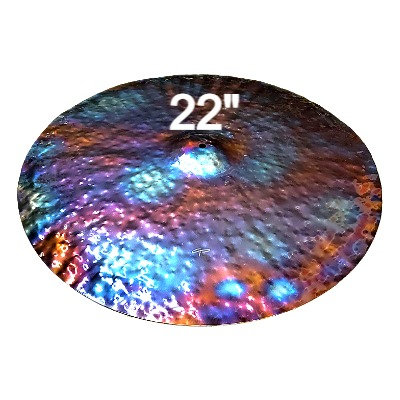 """22"""" FX Ride Cymbal - Fully Hammered"""
