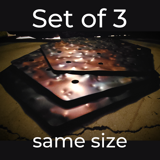 Holey Hex Stax (3 layers of same size - prices start at)