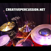 Multiple Modified FX Cymbals
