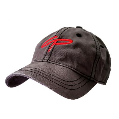 CP Thick Stitch Nickel/Black Hat