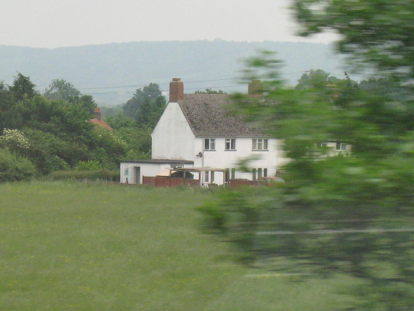 帰路に向かう英国らしい景色4