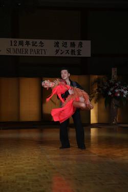 ラテンショーダンスその1