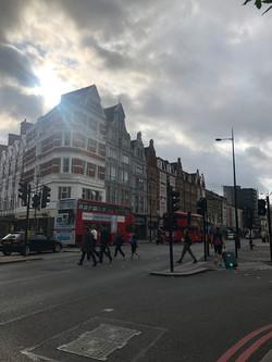 ロンドンの朝