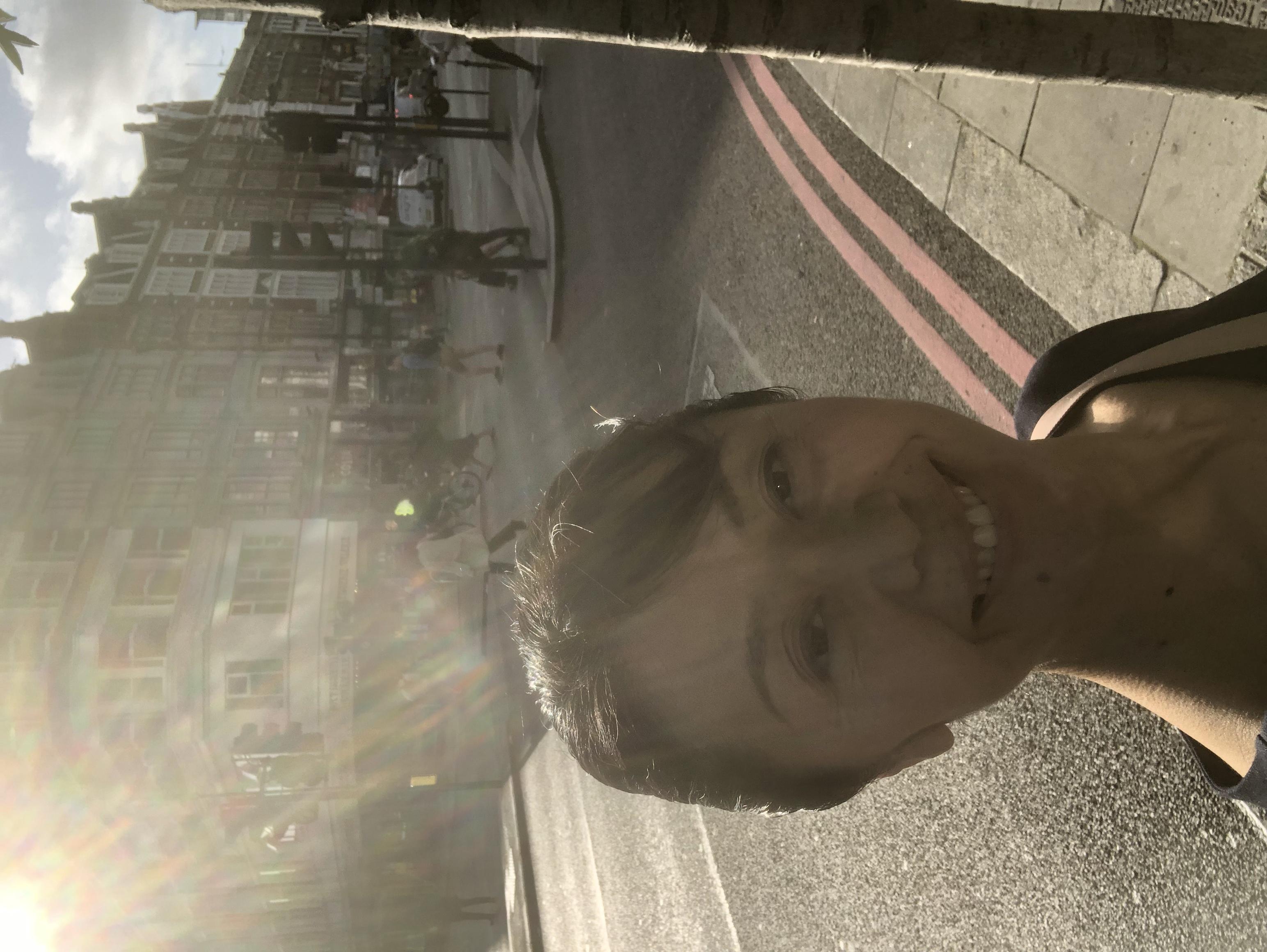 気持ち良い朝のロンドン