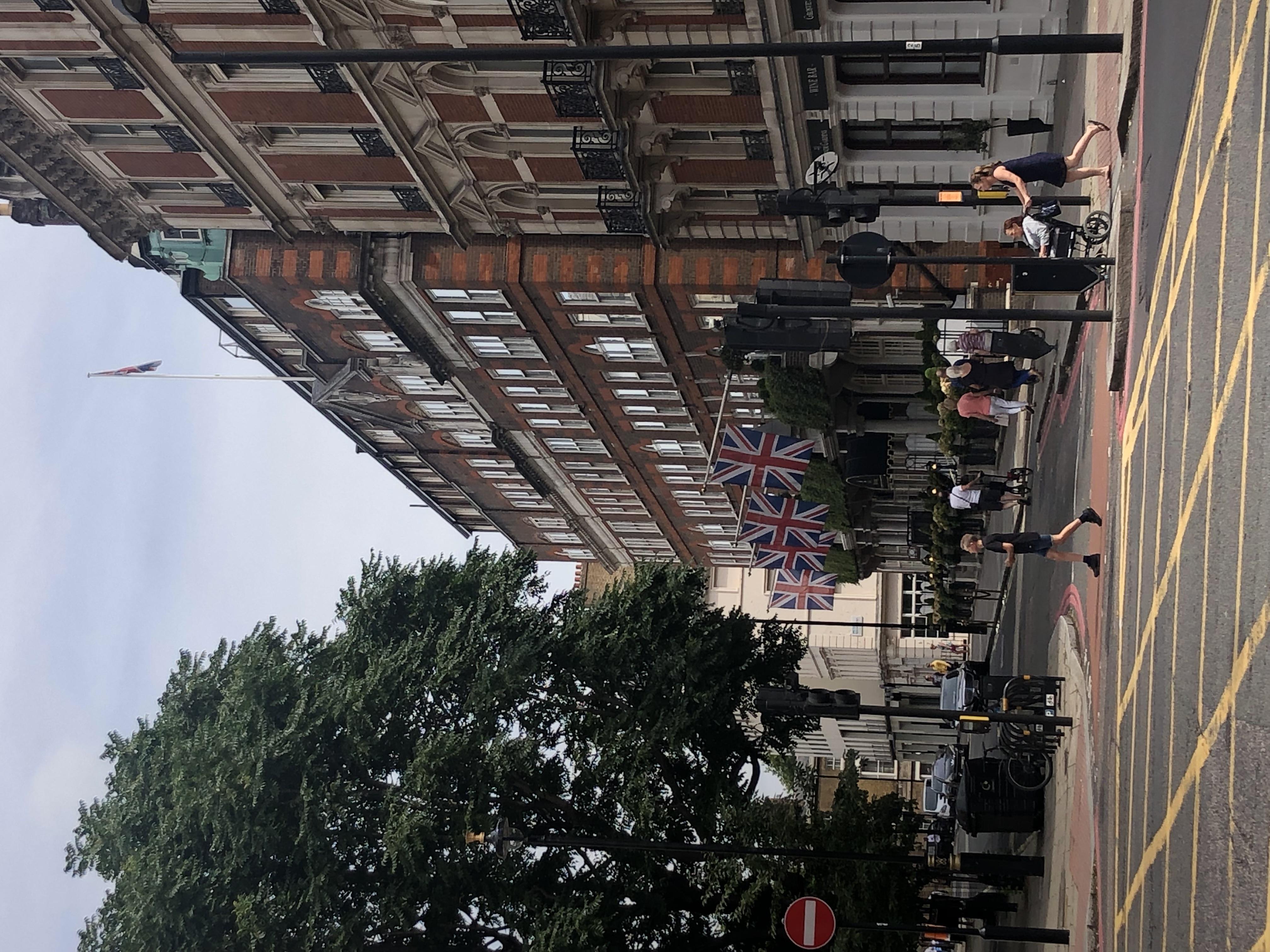 ロンドンの街角