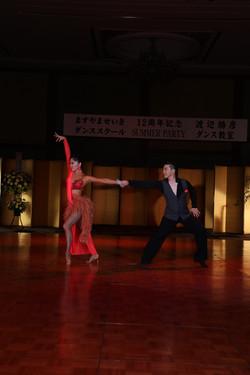 ラテンショーダンスその2