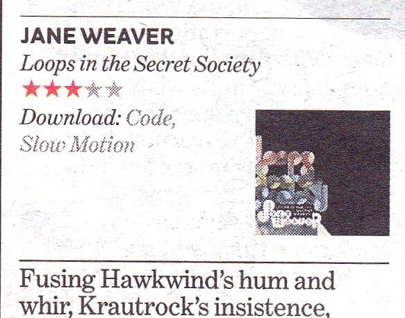 Jane Weaver, Loops in the Secret Society, i (the newspaper)